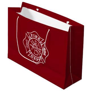 Sacola Para Presentes Grande Departamento do fogo/saco presente do