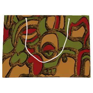 Sacola Para Presentes Grande Design maia original dos Hieroglyphs