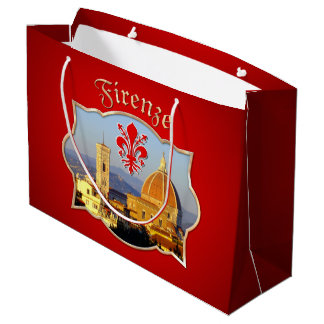 Sacola Para Presentes Grande Florença - Santa Maria del Fiore