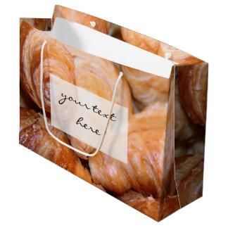 Sacola Para Presentes Grande Fotografia francesa clássica deliciosa dos