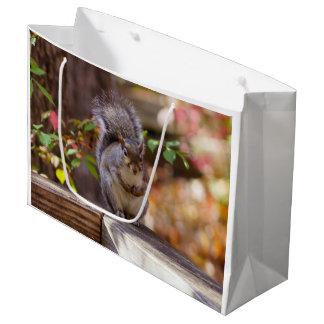 Sacola Para Presentes Grande Implorando o esquilo