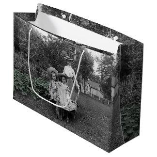 Sacola Para Presentes Grande Jardim 1890 de jardinagem da herança das filhas da
