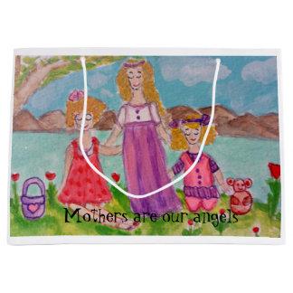 Sacola Para Presentes Grande mães e filhas