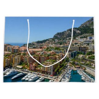 Sacola Para Presentes Grande Monaco Monte - fotografia de Carlo
