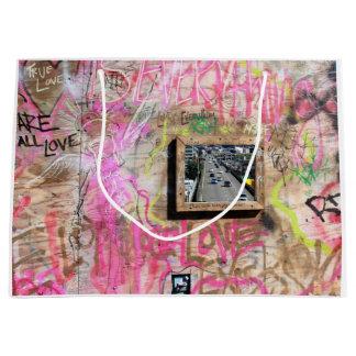 Sacola Para Presentes Grande Movimentação dos grafites