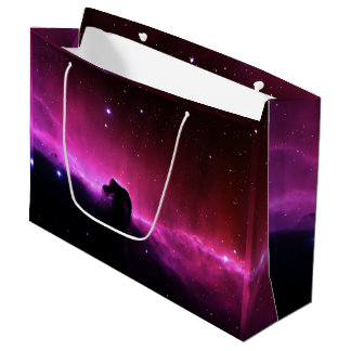Sacola Para Presentes Grande NASA de Barnard 33 da nebulosa de Horsehead