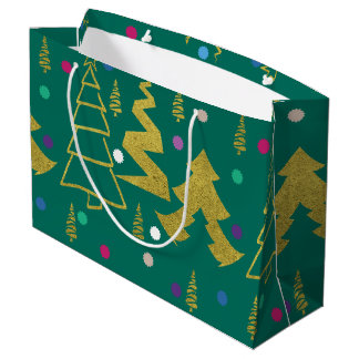 Sacola Para Presentes Grande Natal