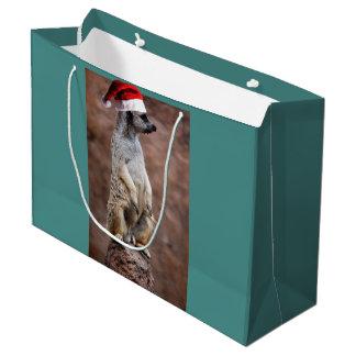 Sacola Para Presentes Grande Natal MeerKat
