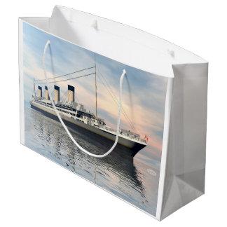 Sacola Para Presentes Grande Navio titânico - 3D rendem