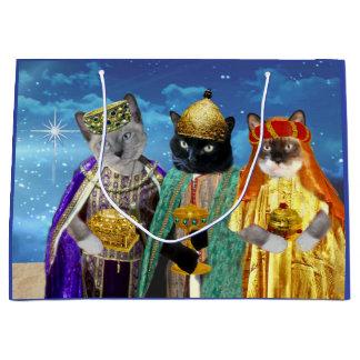 Sacola Para Presentes Grande Nós três reis Grande Presente Saco