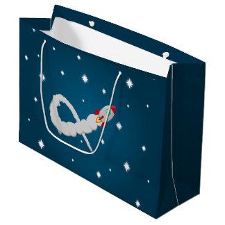 Sacola Para Presentes Grande O astronauta só