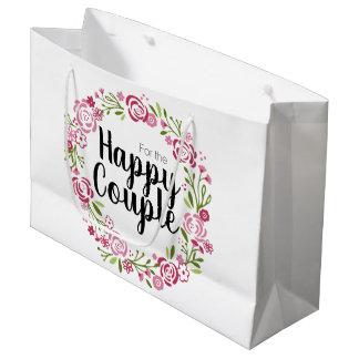 Sacola Para Presentes Grande Para o saco feliz do presente do casal
