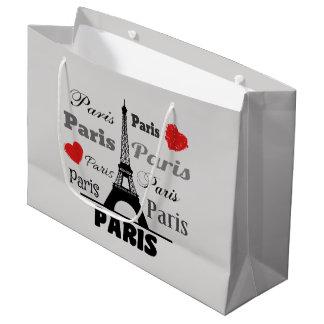 Sacola Para Presentes Grande Paris