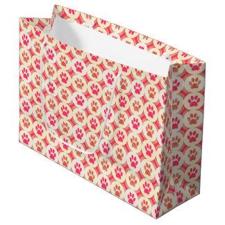 Sacola Para Presentes Grande Pata-para-Dando o saco do presente (Sangria)