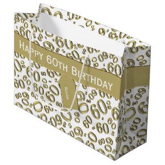 Sacola Para Presentes Grande Personalize: Sobre tema do aniversário do monte o