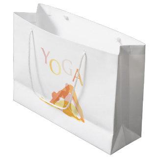 Sacola Para Presentes Grande Poses da ioga