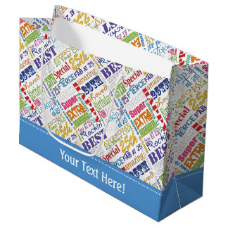 Sacola Para Presentes Grande Presentes originais e do Special 25os da festa de