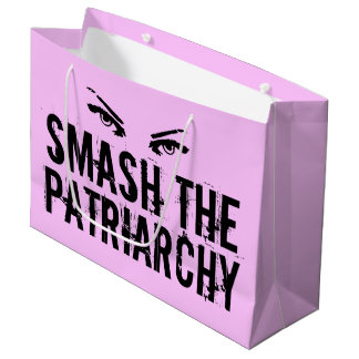 Sacola Para Presentes Grande Quebra a feminista do patriarcado