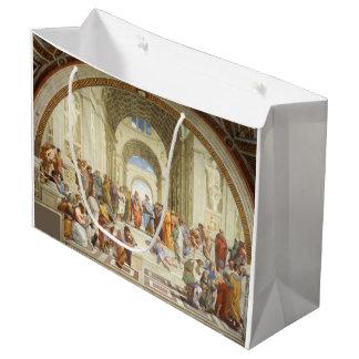 Sacola Para Presentes Grande Raphael - A escola de Atenas 1511