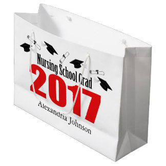 Sacola Para Presentes Grande Saco 2017 do presente da graduação da escola de