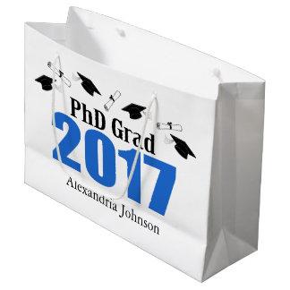 Sacola Para Presentes Grande Saco 2017 do presente da graduação do formando do