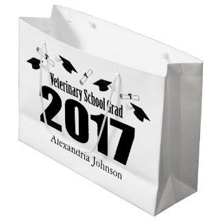 Sacola Para Presentes Grande Saco 2017 veterinário do presente da graduação do