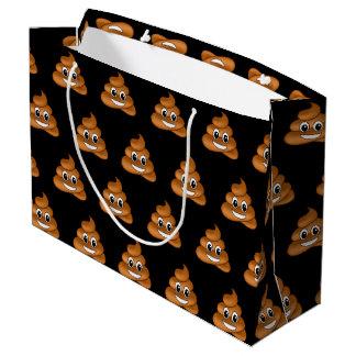 Sacola Para Presentes Grande Saco de sorriso do presente de Emoji do tombadilho