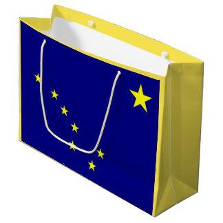 Sacola Para Presentes Grande Saco do Alasca do presente da bandeira