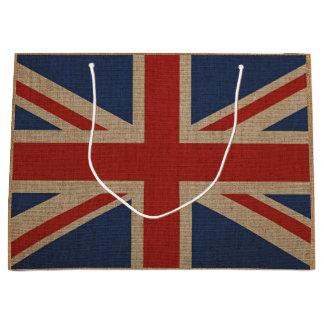 Sacola Para Presentes Grande Saco do presente com a grande bandeira de