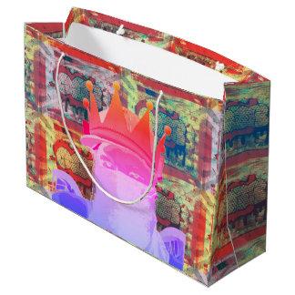 Sacola Para Presentes Grande Saco do presente de Graff Ninja ILY