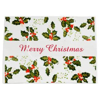 Sacola Para Presentes Grande Saco do presente de Larg do Feliz Natal