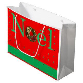 Sacola Para Presentes Grande Saco do presente de Noel