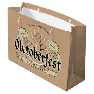 Sacola Para Presentes Grande Saco do presente de Oktoberfest grande