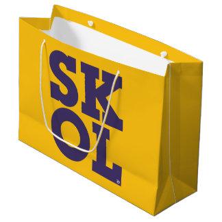 "Sacola Para Presentes Grande Saco do presente de ""SKOL"" do roteiro do bloco -"
