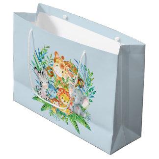 Sacola Para Presentes Grande saco do presente do chá de fraldas dos meninos dos