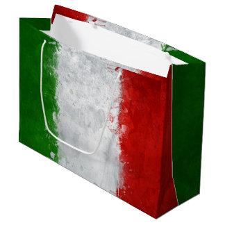 Sacola Para Presentes Grande Saco italiano do presente da bandeira