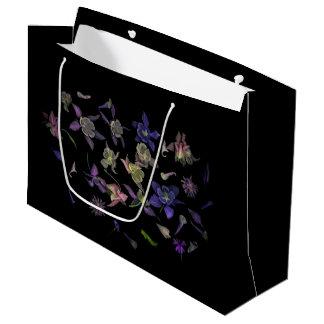 Sacola Para Presentes Grande Saco mágico do presente da flor - grande, lustroso