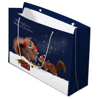 Sacola Para Presentes Grande Saco mágico do presente do Natal