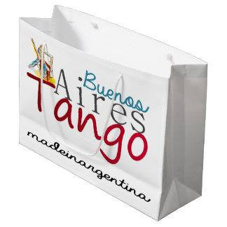 Sacola Para Presentes Grande Tango de Buenos Aires feito em Argentina