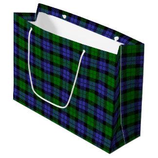 Sacola Para Presentes Grande Tartan escocês