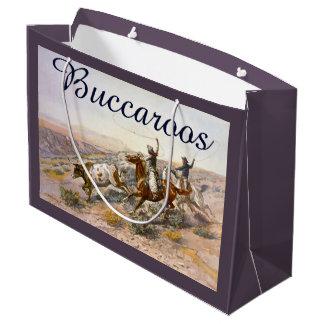 Sacola Para Presentes Grande Vintage Buccaroos Charles Marion Russell