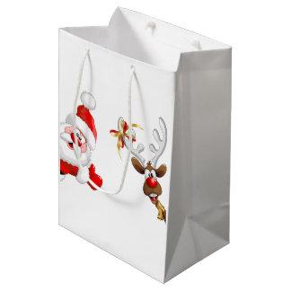Sacola Para Presentes Média as bolsas do presente do Natal