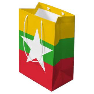 Sacola Para Presentes Média Bandeira de Burma