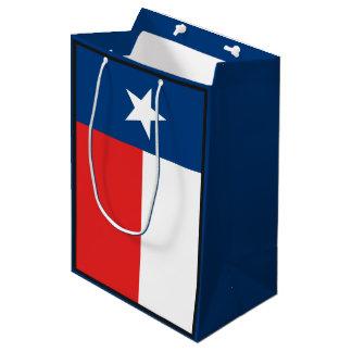 Sacola Para Presentes Média Bandeira de Texas
