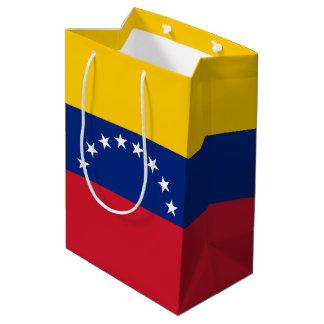 Sacola Para Presentes Média Bandeira de Venezuela
