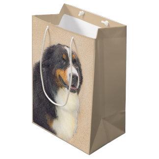 Sacola Para Presentes Média Cão de montanha de Bernese