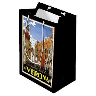Sacola Para Presentes Média Cidade de Verona em Italia