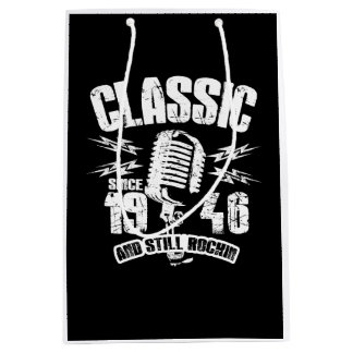 Sacola Para Presentes Média Clássico desde 1946 e ainda Rockin