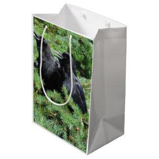 Sacola Para Presentes Média Dois corvos