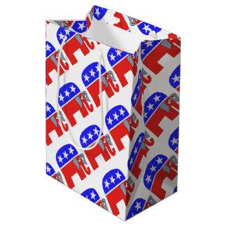 Sacola Para Presentes Média Elefante do GOP